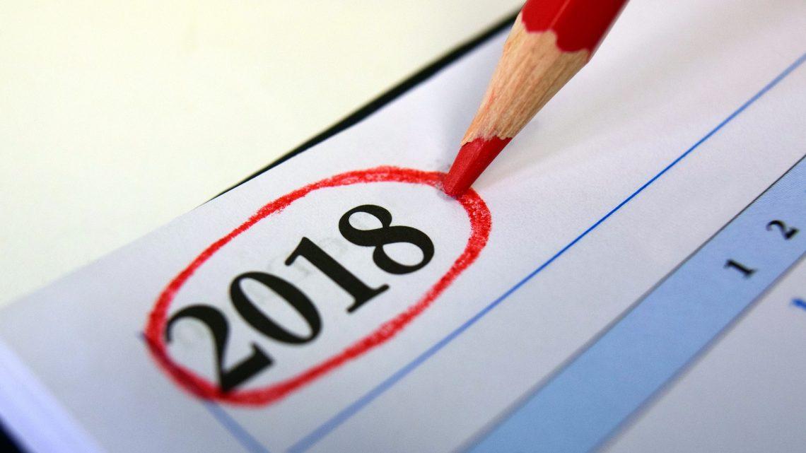Mein 2018 – Schreiben, schreiben und nochmal schreiben